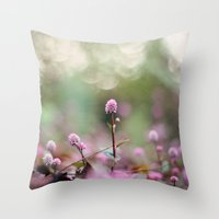 Stand Back Up Throw Pillow