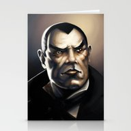 The Count Stationery Cards