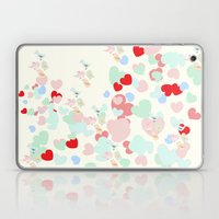 Hearts Laptop & iPad Skin