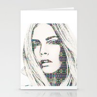 Cara Delevigne Stationery Cards