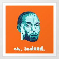 Omar Little Art Print