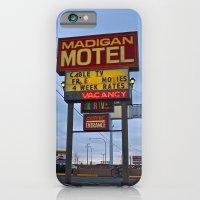 Classic motel sign iPhone 6 Slim Case