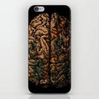 Always On My Mind - Brain Traveling Wanderlust Love Travel iPhone & iPod Skin
