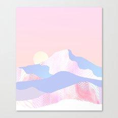Dune Sun Canvas Print