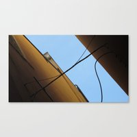 Sail In The Sky Canvas Print