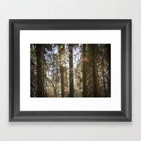 Come Away Framed Art Print