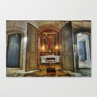 Easter Prayer Canvas Print
