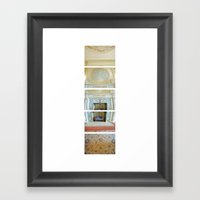 Dinning Hall/ Bass Mansi… Framed Art Print