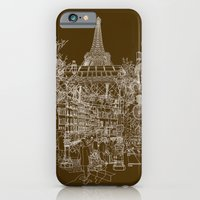 iPhone & iPod Case featuring Paris! by David Bushell