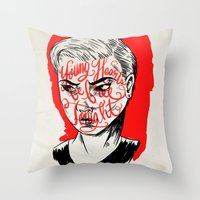 Young Turks Throw Pillow