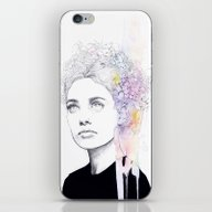 iPhone & iPod Skin featuring Soft Springtime by Agnes-cecile