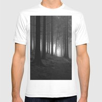 Nature. Mens Fitted Tee White SMALL