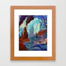 Transition Point Framed Art Print