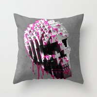 Cranium Throw Pillow