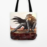Antivan Crow Tote Bag