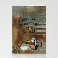 Home Is Where You Brew Y… Stationery Cards