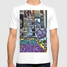 untitled SMALL White Mens Fitted Tee