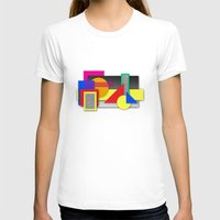 New Age Composition 2 Womens Fitted Tee White SMALL