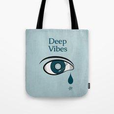 Deep Vibes Tote Bag