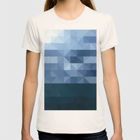 The Lake Womens Fitted Tee Natural SMALL