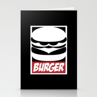 Obey Burger Stationery Cards