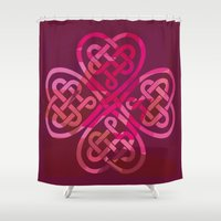 LOVEROCK 3 Shower Curtain