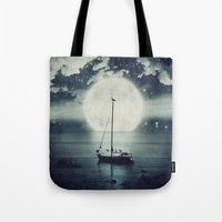A Journey Under A Starry… Tote Bag