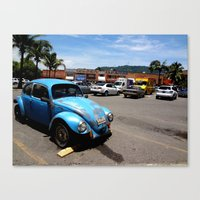 Old VW Buggy Canvas Print