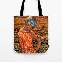 Her Eyes Towards the Sky Tote Bag