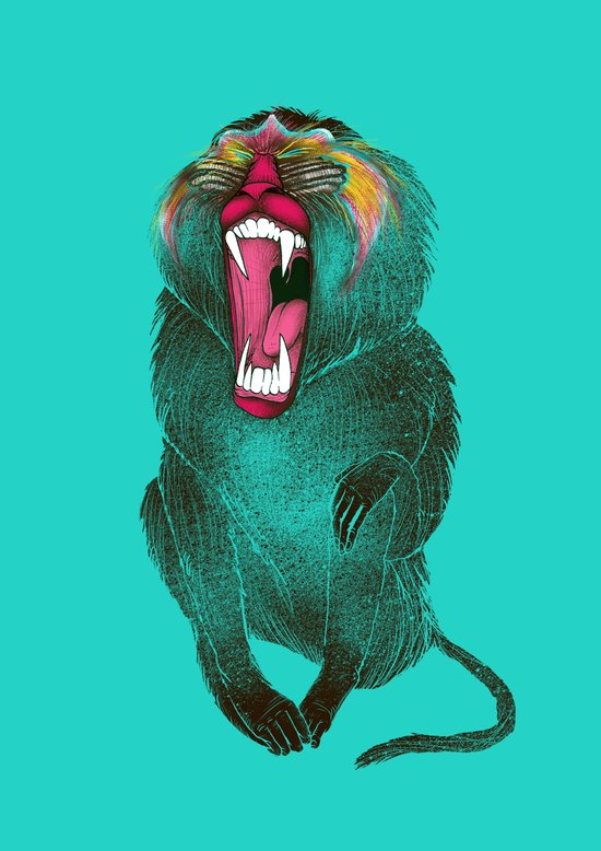 The Ultimate Baboon Art Print
