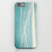 iPhone & iPod Case featuring Above us only sky. by Eyeshoot Photography