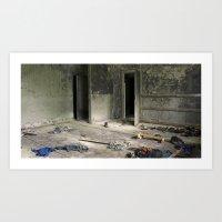Chernobyl - гардеробна Art Print