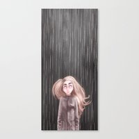 Awaiting For the Rain Canvas Print
