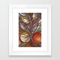 Flor de Marte Framed Art Print