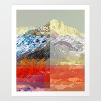 MountainMix 10 v2 Art Print