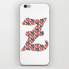 The 26th Letter iPhone & iPod Skin