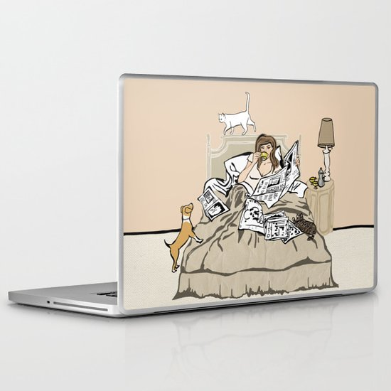 Sunday Mornings Laptop & iPad Skin