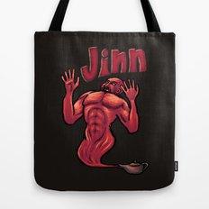 Evil JInn Tote Bag
