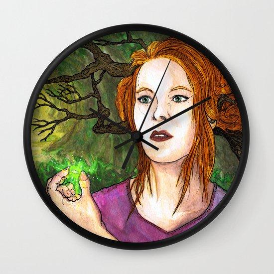 """Through the Woods"" by Cap Blackard Wall Clock"