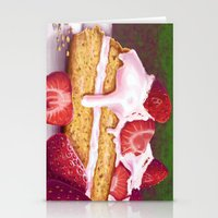 Piece of Cake Stationery Cards