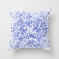 CPU (Dark T-shirt Versio… Throw Pillow