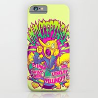 iPhone Cases featuring LEMONGRAB: UNACCEPTABLE by BeastWreck