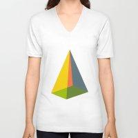 Pyramid Unisex V-Neck