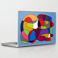 Laptop & iPad Skin featuring Abstract #28 by (RLT)