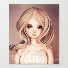 Doll-like Canvas Print