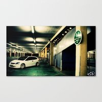 Honda Civic Canvas Print