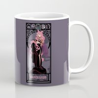 Black Lady Nouveau - Sailor Moon Mug