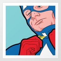 SLOH - Captain Doubt Art Print