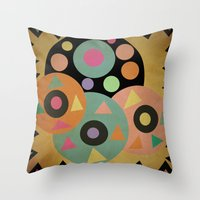 Circles Throw Pillow