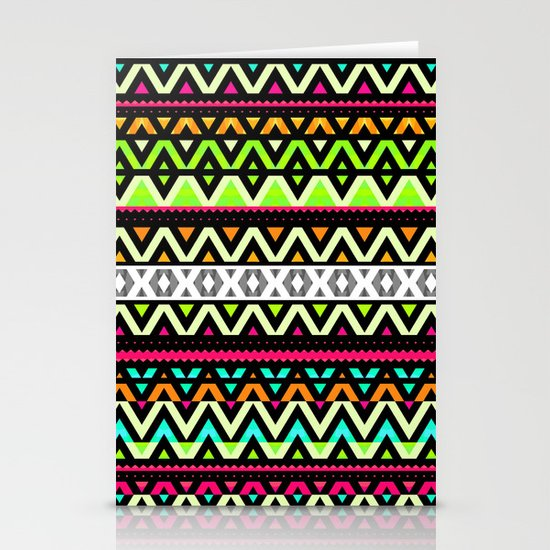 Neon Mix Stationery Card
